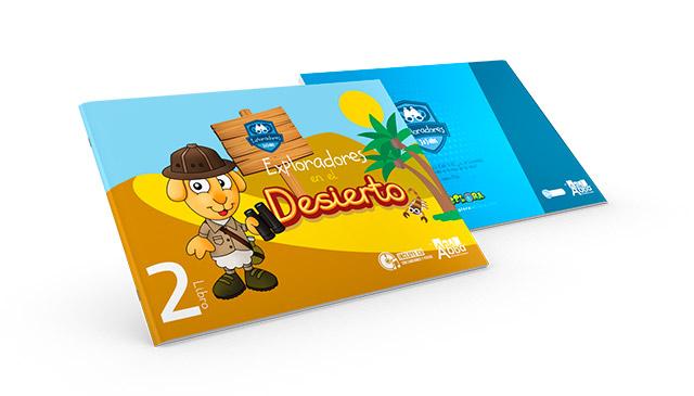 libro exploradores desierto explora 2