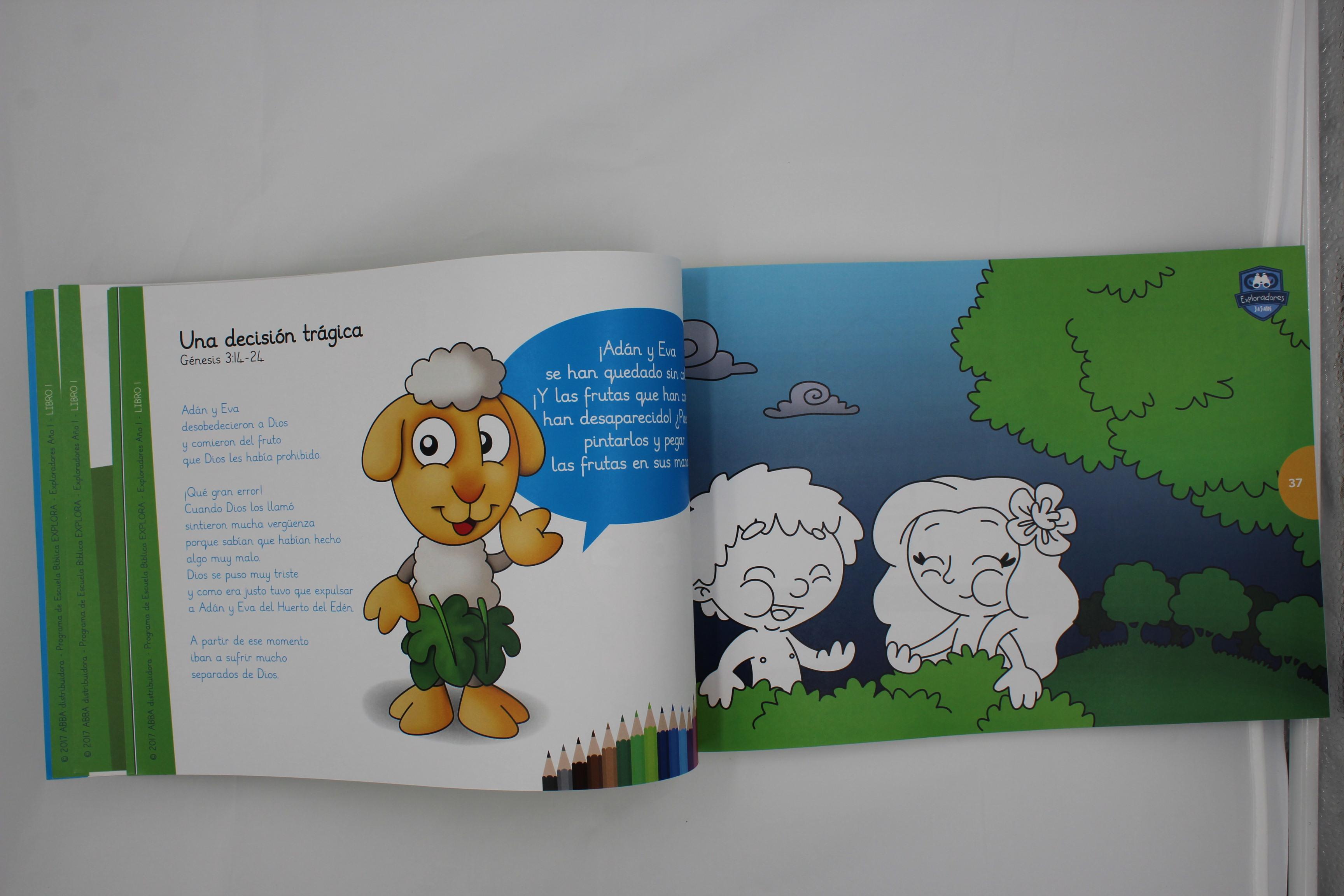 Exploradores Alumno Año 1 Libro De Escuela Dominical Para Niños De