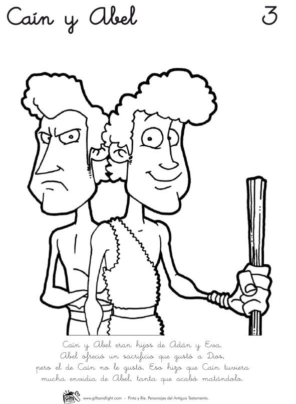 Pinta y Ríe 1: Personajes del Antiguo Testamento (Libro para ...