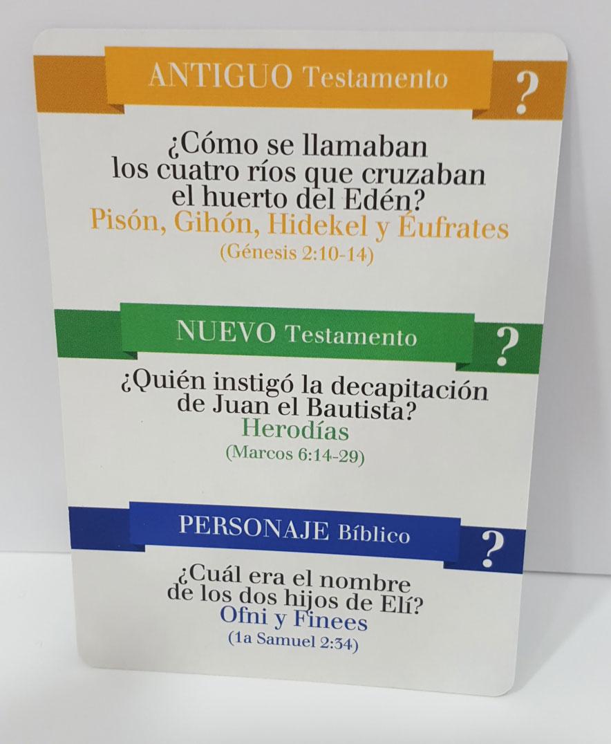 El Juego De Las Preguntas Biblicas Nivel Experto Gifts And Light