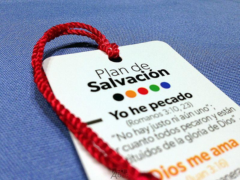 Plan de salvación...Punto de libro línea contemporánea