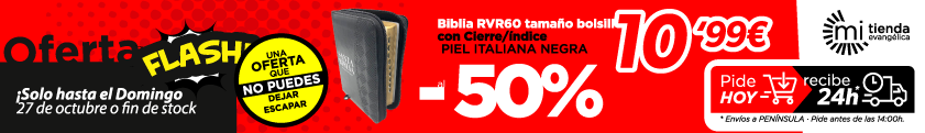 oferta flash biblia rv60