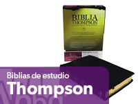 biblia de estudio thompson