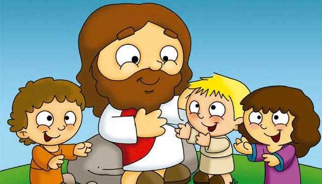 alumnos exploradores Jesús y niños