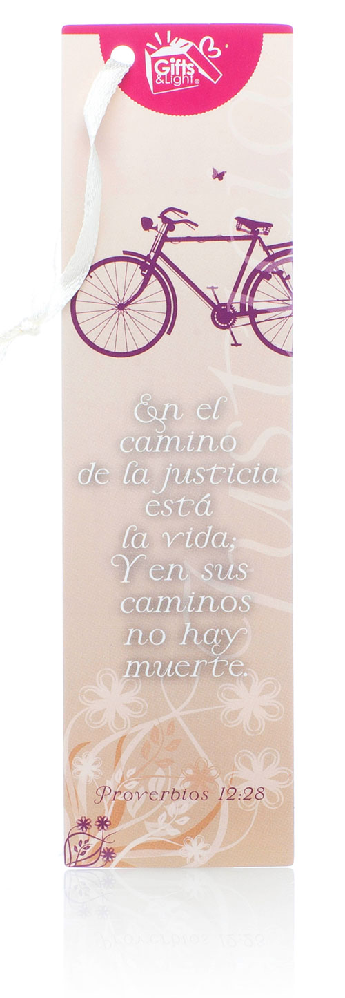 En el camino de la justicia...Punto de libro gifts and light