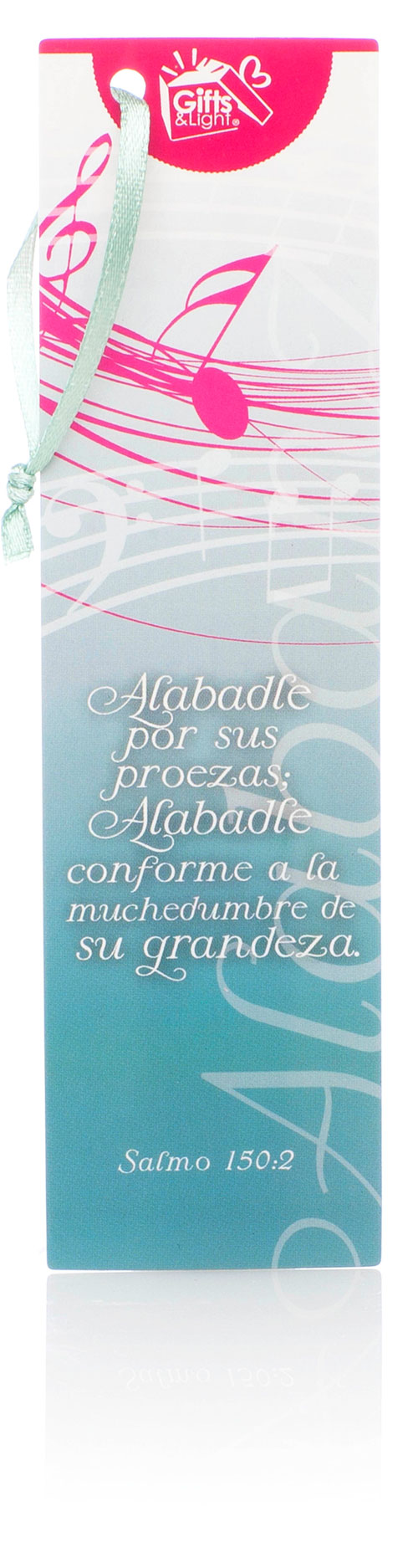 Alabadle por sus proezas... Punto de libro Gifts and Light