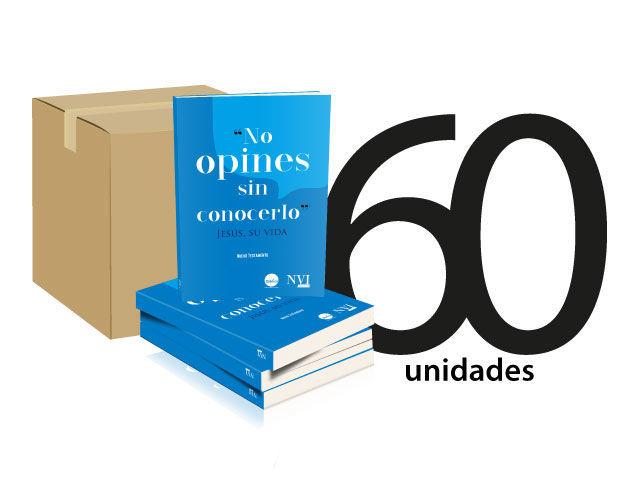 Caja 60 NT NVI Peninsular - No opines sin conocerlo