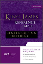King James Reference Bible (Bonded leather)