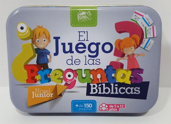 El Juego De Las Preguntas Biblicas Nivel Junior Gifts And Light