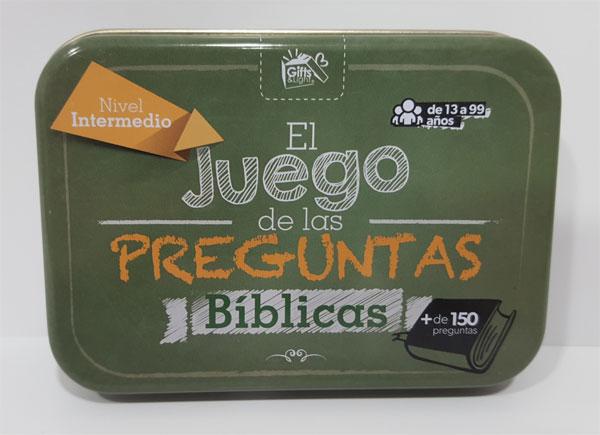 El Juego De Las Preguntas Biblicas Nivel Intermedio Gifts And