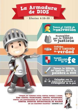 La Armadura De Dios Infantil Póster Gl030 Gifts And Light