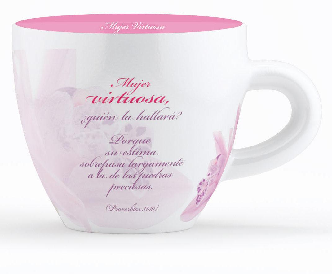 Taza grande mujer virtuosa colecci n contempo gifts for Tazas grandes