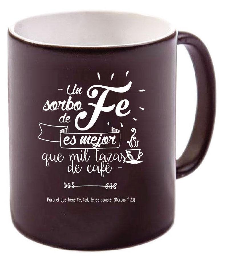 Taza negra un sorbo de fe colecci n noir gifts and light 9780648920274 comprar libro - Tazas de cafe de diseno ...