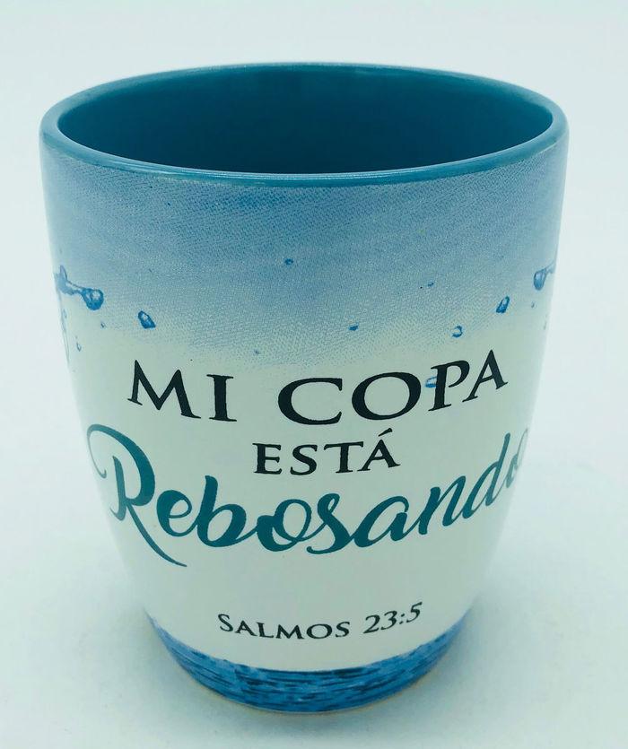 Mi Copa Está Rebosando Taza Colección Hombres De Valor Lucianos