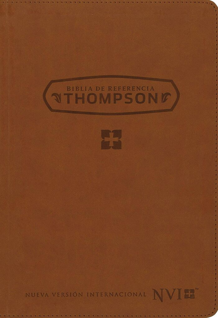 Biblia Thompson Referencias NVI Piel Italiana