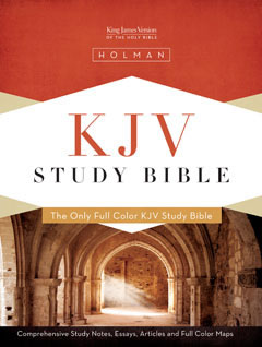 KJV Study Bible - Black Genuine Leather
