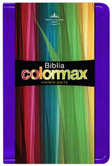 Biblia RVR60 COLORMAX Violeta Party