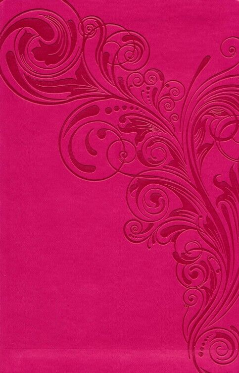 KJV Large Print Personal Size Reference Bible, Pink LeatherTouch, Thumb-Indexed (En inglés)