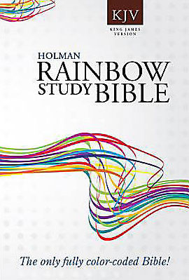 KJV Rainbow Study Bible softcover