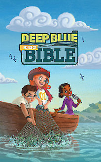 CEB Common English Bible Deep Blue Kids Bible Bright Sky