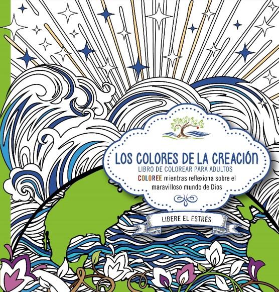 Los colores de la creación - Libro de colorear para adultos: Casa ...