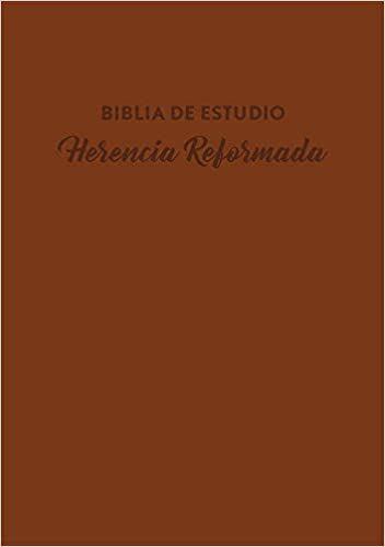 Matrimonio Biblia Paralela : Biblia de estudio herencia reformada rvr60 i piel café rvr60