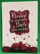 Nada es imposible. Block de notas ND-006