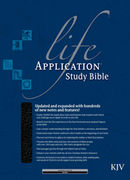 Life Application Study Bible KJV Black bonded