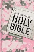 Operation Worship Bible NLT Softcover Pink (En inglés)