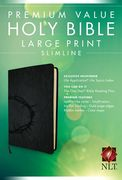 Premium Value Slimline Bible Large Print NLT (English)