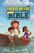 CEB Common English Deep Blue Kids Bible Bright Sky Paperback