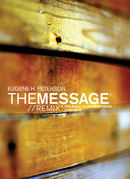 Bible the message/remix softcover wood